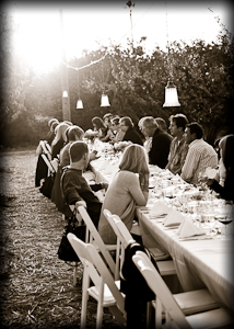 Dinner Down the Orchard at Schnepf Farms