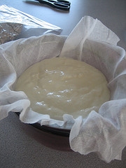 Straining Yogurt