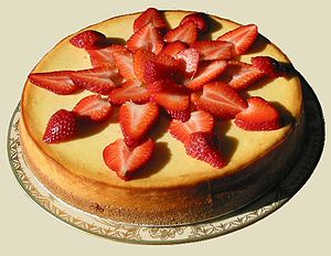 English: New York Cheesecake