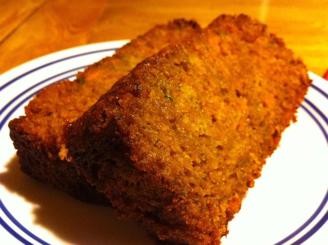 ... Recipes from Fill Your Plate Moms: Sweet Potato-Zucchini Bread