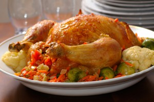 The average cost of a Thanksgiving meal has increased slightly in 2013 (photo credit: BigStockPhoto.com)