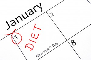 New Year's Resolution diet