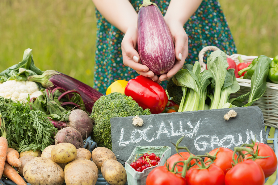 Support your local farmers market for Cuisine en locale