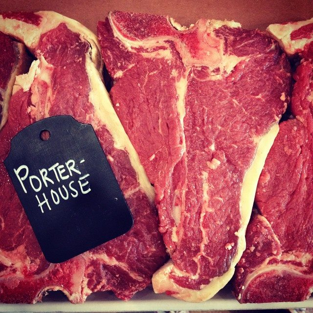 100% Natural Porterhouse Steaks