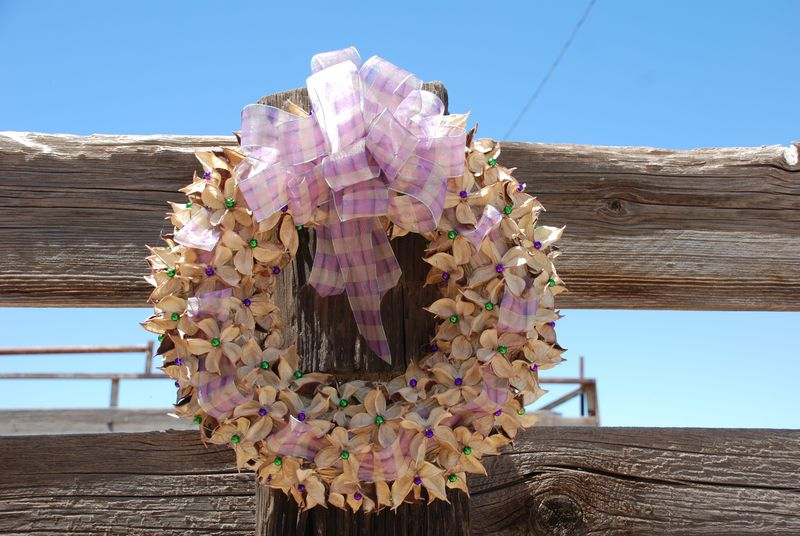 Cotton Burr Wreath