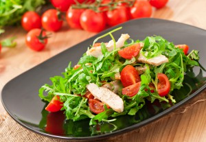 Add in season arugula to your salads this September! (photo credit: BigStockPhoto.com)