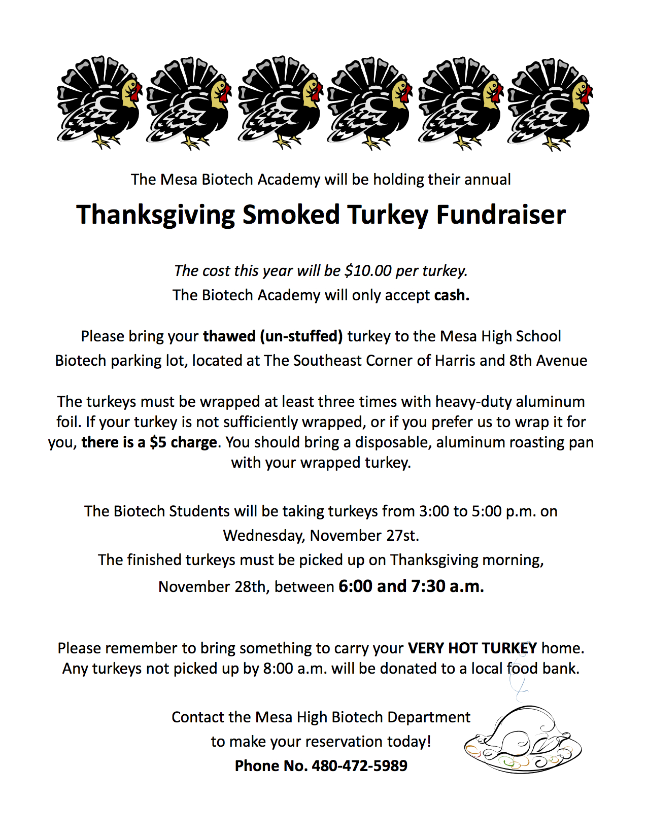2013 Turkey Flyer