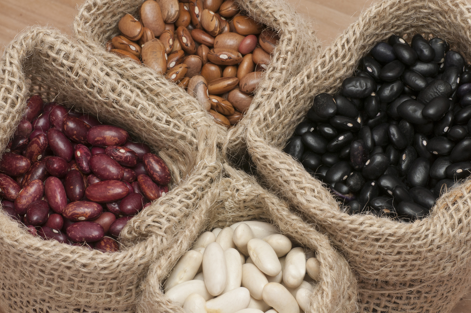 White Beans Kidney Beans Pinto Beans And Black Beans